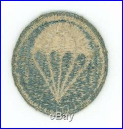 WWII WW2 US Army FE fully embroidered airborne Infantry (only 1 on ebay) patch