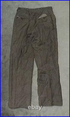 WWII WW2 U. S. Army Uniform Jacket Pants 1st Cavalry Division Wool Patches