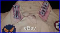 WWII Women's Patch Jacket Collection Babs WAC US Army AAF German Rank Insignia