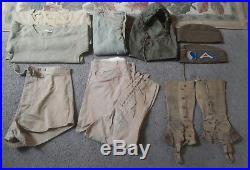 WW 1 WW2 US Army infantry uniform