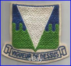 WW 2 Occupation US Army 511th Parachute Infantry Regiment Boot's Patch Inv# H846