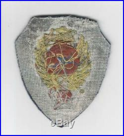 WW 2 Theater Made US Army Air Force 9th Engineer Command Bullion Patch Inv# M693