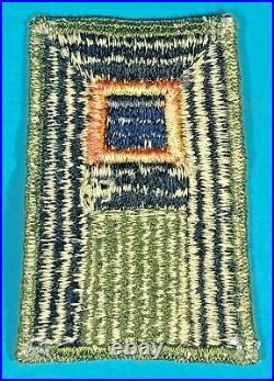 WW 2, US 1st Army RARE Aviation Section, Full Emb. Cut Edge, Excellent Cond, #1