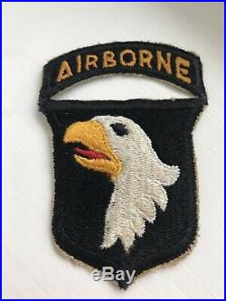 WW 2 US Army 101st Airborne Division Patch