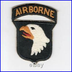 WW 2 US Army 101st Airborne Division Patch & Attached Tab Inv# E978