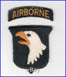 WW 2 US Army 101st Airborne Division Patch & Tab Inv# V862