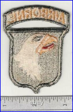 WW 2 US Army 101st Airborne Division Patch With Attached Tab Inv# W716