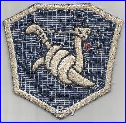 WW 2 US Army 158th Regimental Combat Team Wool Patch Inv# H442