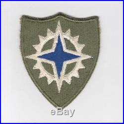 WW 2 US Army 16th Corps Green Border Patch Inv# J039