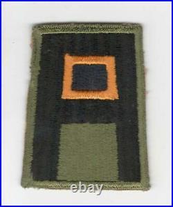 WW 2 US Army 1st Army Chemical Patch Inv# F336