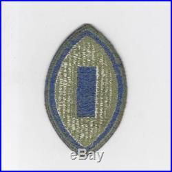 WW 2 US Army 1st Service Command Greenback Patch Inv# J025