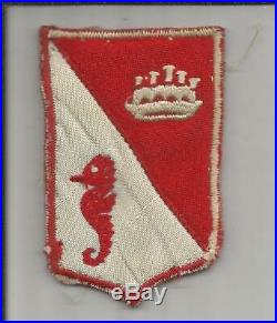 WW 2 US Army 2833rd Combat Engineer Battalion Patch Inv# JR599