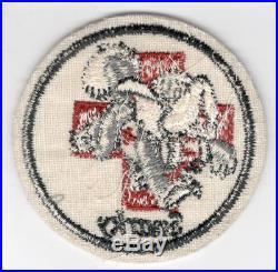 WW 2 US Army 2nd Ambulance Battalion 134th Medical Regiment Patch Inv# Z906