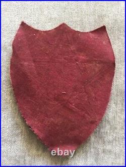 WW 2 US Army 2nd Infantry Division Bullion Felt Patch