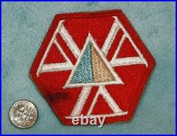 WW 2 US Army 466th Quartermaster Battalion (Mobile) Shoulder Patch