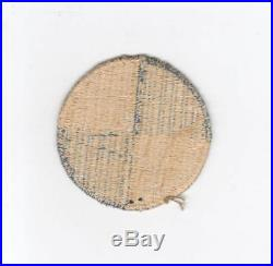 WW 2 US Army 4th Corps No Border Patch Inv# D671