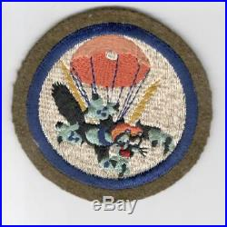 WW 2 US Army 503rd Parachute Infantry Battalion Wool Patch Inv# G965