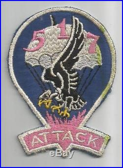 WW 2 US Army 517th Parachute Infantry Regiment Patch Inv# A256