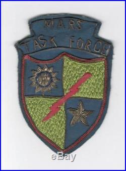 WW 2 US Army 5332d Brigade Mars Task Force LRPF Bullion Patch Inv# C321