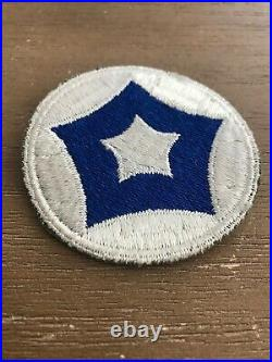 WW 2 US Army 5th Service Command Patch Reversed Colors