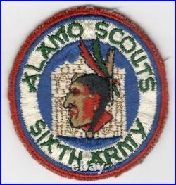 WW 2 US Army 6th Army Alamo Scouts Patch Inv# E901