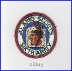 WW 2 US Army 6th Army Alamo Scouts Patch Off an Ike Jacket Inv# E901