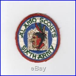 WW 2 US Army 6th Army Alamo Scouts Patch Off an Ike Jacket Inv# E901