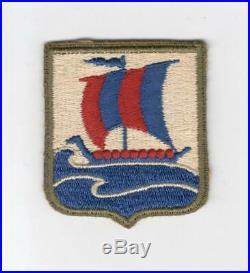 WW 2 US Army 99th Infantry Battalion OD Border Patch Inv# G036