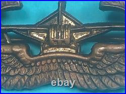 WW 2, US Army Air Corps Glider Qualification Wing, CBI Made, Exc. Cond, #16