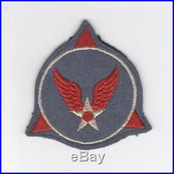 WW 2 US Army Air Forces Red Wings Wool Patch Inv# D232