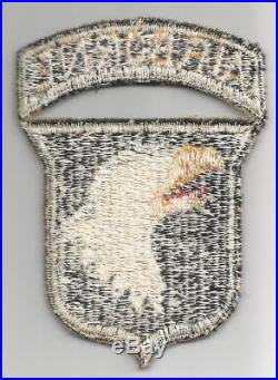 WW 2 US Army Blind No Eye 101st Airborne Division Patch Inv# G412