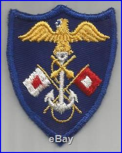 WW 2 US Army Navy USMC Joint Assault Signal Company JASCO Patch Inv# G825