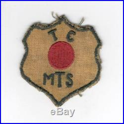 WW 2 US Army Opperation Red Ball Express Patch Inv# Z902