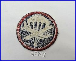 WW 2 US Army Paraglider / Glider Airborne Overseas Cap Patch WWII Authentic