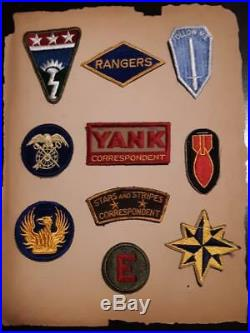 WW 2 US Army Ranger Patch Inv# F899