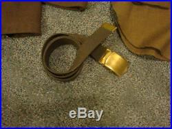 WW II US Army Air Corps Wool UNIFORM Jacket Pants Shirt Belt Patches Ribbons Pin