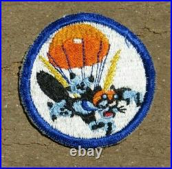 Wool Trimmed Off WW2 US Army 503rd Parachute Infantry Regiment Patch RED MOUTH