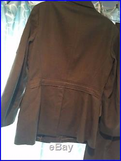Ww11 U. S. Army Air Corps Uniform With Patches. Pants And Jacket. Medium