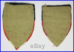 Ww2 China Burma India Cbi Ledo Road 8 Patches Lot Theater Bullion U. S. Army