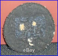 Ww2- U. S. Army Air Force Patch Bullion Made In Theater Original, Looks Great