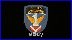 Ww2 Us Army'1st Allied Airborne' Brit-made Patch, Mint 100% Original
