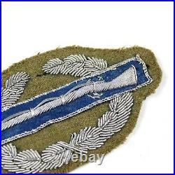 Ww2 Us Army Combat Infrantryman Badge Cib Bullion Patch German Made