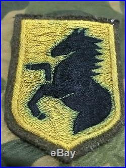 Ww2 Us Army Military Calvary Japanese Made Patch