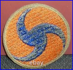 Ww 2 U. S. Army Air Corps General Headquaters Patch Od Green Back Original