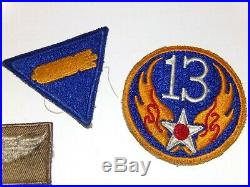 Ww 2 Us Army Air Corp 13th Air Force Aerial Gunner Group Named Dog Tag Sourdry
