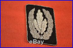 Wwii German Collar Tab Patch Brought Back By Us Army Major 45th Infantry In 1945