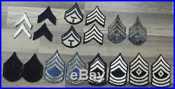 Wwii Us Army Enlisted Mans Rank Patches